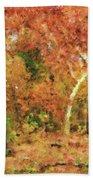 Fall Impression Beach Towel
