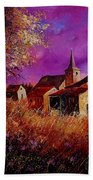 Fall In Ardennes  Beach Towel