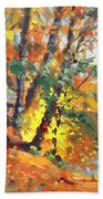 Fall In Bear Mountain Beach Towel