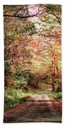 Fall In Monongalia County Beach Towel