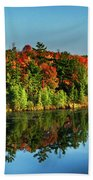 Fall In Northern Wisconsin Beach Towel