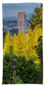 Fall In Portland Or 2 Beach Towel