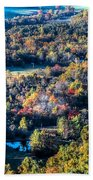 Fall In Shenandoah Valley Beach Towel