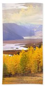 Fall In The Rockies Beach Towel