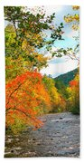 Fall In The Smokey Mountains  Beach Towel