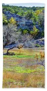 Fall In The Texas Hill Country Beach Towel