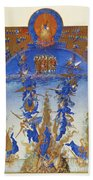 Fall Of Rebel Angels Beach Towel