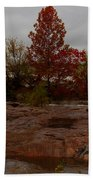 Fall On The Llano Beach Towel