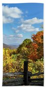 Fall Overlook Beach Towel