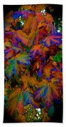 Fall Painting By Mother Nature Beach Towel