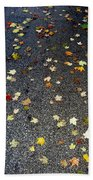 Fall Sparkle Beach Towel