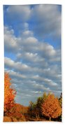 Fall Sunrise Over Hackmatack Nwr Beach Towel