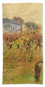Fall Vines Beach Towel