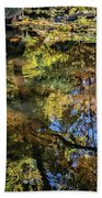 Fall Into Seasons Beach Towel