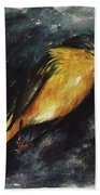Fallen Angel Beach Towel