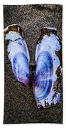 Fallen Butterfly Beach Towel