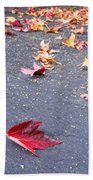 Fallen Beach Towel