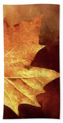 Fallen Leaf Beach Towel