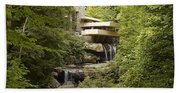 Fallingwater Beach Towel