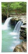 Falling Water Falls 5 Beach Towel