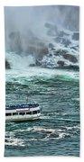 Falls Boat Beach Towel