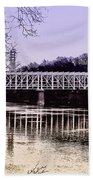 Falls Bridge Beach Towel