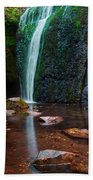 Falls In Bluff Country Beach Towel