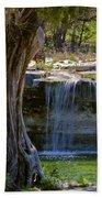 Falls Into Cow Creek Beach Towel
