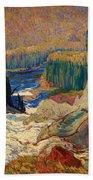 Falls - Montreal River Beach Towel