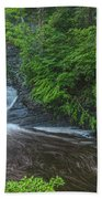 Falls Of Mystery Beach Towel