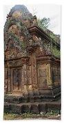 Famous Temple Banteay Srei Cambodia Asia  Beach Towel