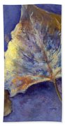 Fanciful Leaves Beach Towel