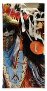 Pow Wow Fancy Dancer 1 Beach Towel