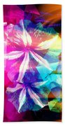 Fancy Pansy Candy Beach Towel