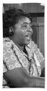 Fannie Lou Hamer (1917-1977) Beach Sheet