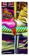 Fantasy Fair Horse Ride Beach Sheet