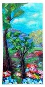 Fantasy Forest Beach Towel