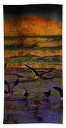 Fantasy Wings Beach Towel