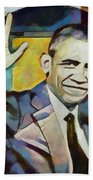 Farewell Obama V2 Beach Towel
