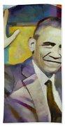 Farewell Obama Beach Towel