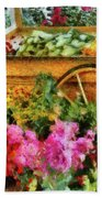Farm - Food - At The Farmers Market Beach Towel