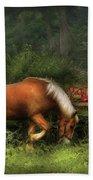 Farm - Horse - In The Meadow Beach Towel