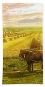 Farm - Finland - Field Of Hope 1899 Beach Towel