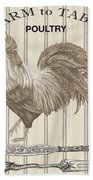 Farm To Table-jp2110 Beach Towel