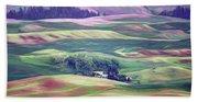 Farmland Colors - No. 1 Beach Towel