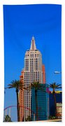 Fascination Las Vegas Beach Towel