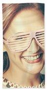 Fashion Eyewear Pin-up Beach Towel