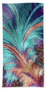 Feather Abstract Beach Towel