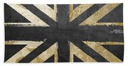 Fashion Flag United Kingdom Beach Towel