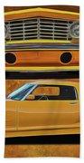 Fast Yellow Beach Towel